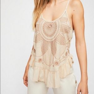 NEW! NWOT! Free People New Moon Tank